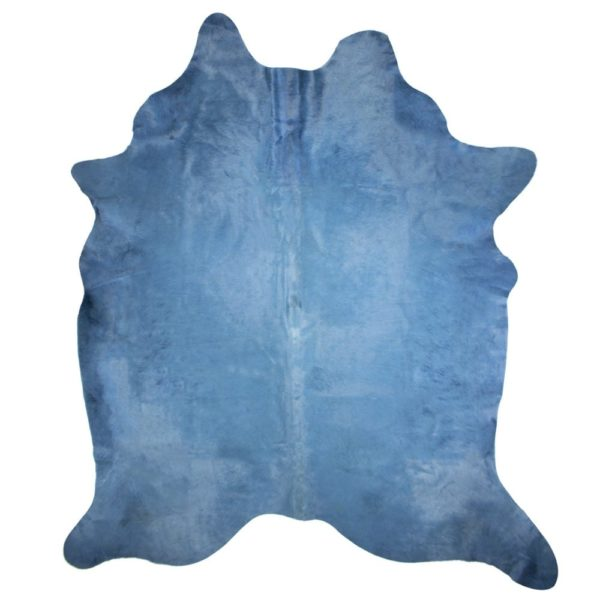 Carpet Cow  Blue   Leather 150x250x0
