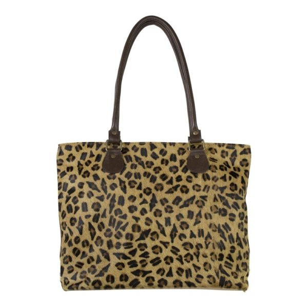Bag Panther  Colored   Leather 42x14x31cm Mars & More