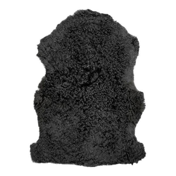 Fur   Black   Natural 90x65x2cm Mars & More