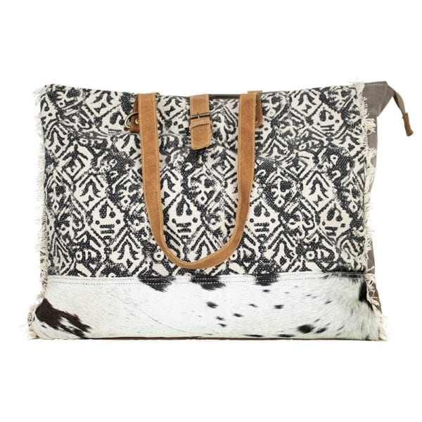 Bag Cow  Colored   Leather 49x20x40cm Mars & More