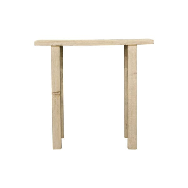 Sidetable   White wash   Wood 110x42x85cm Mars & More